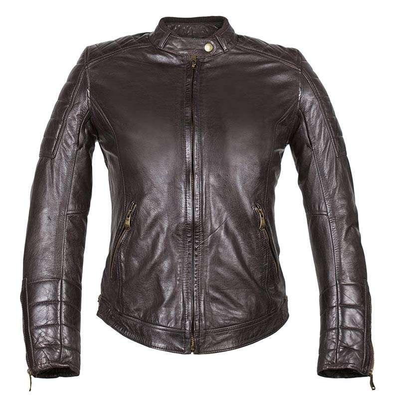 blouson cuir moto femme revit v tements l gants modernes. Black Bedroom Furniture Sets. Home Design Ideas