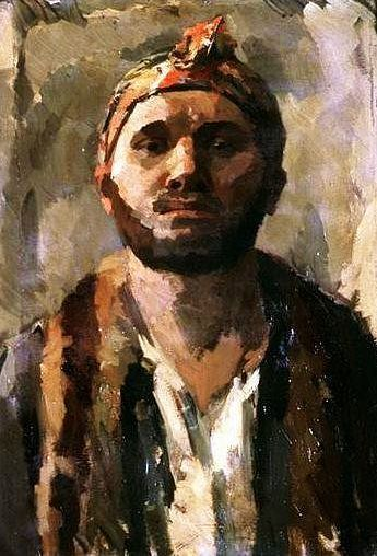 Rene Beeh 1886 1922 Self Portrait With Turban Strasbourg Museum Of Modern And Contemporary Art France Style German Expressionism Portret