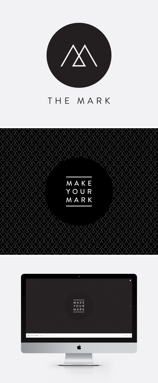 The Mark Logo Design Wallpaper Web Design Www Themark Co Nz Logo Design Web Design Portfolio Design