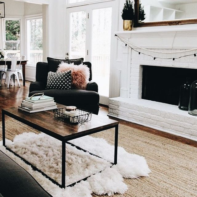 Stay Cute // ✧ #familyroomdesignwithfireplace | Family Room Design |  Pinterest | Flats, Future And Living Rooms