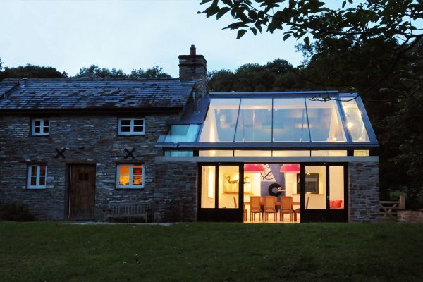 Glass Roof House house designs featuring glass extensions – enjoy nature from the