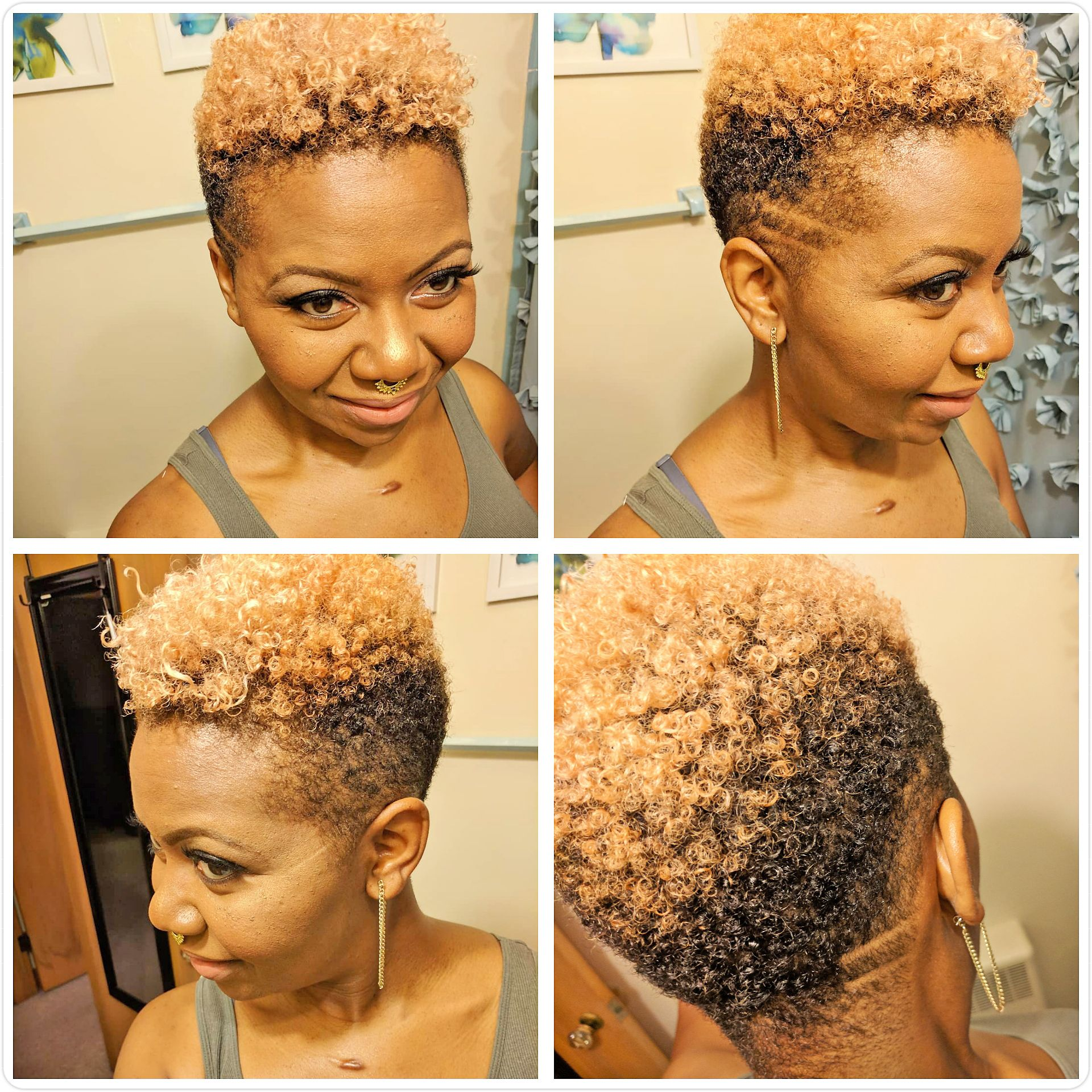 Pin By Ja I Davis On 3 Hair And Nails Blonde Natural Hair Natural Hair Styles Natural Hair Styles For Black Women