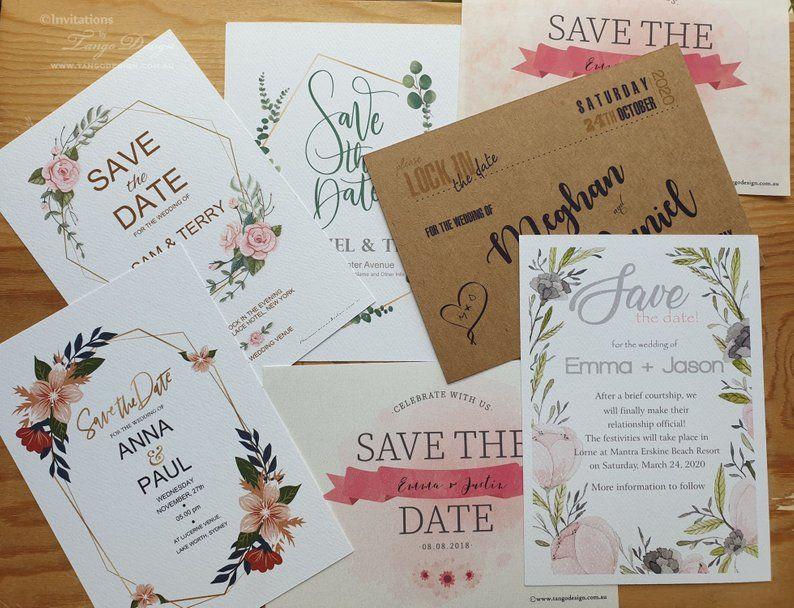 Wedding Invitation Sample Mock Up Pack