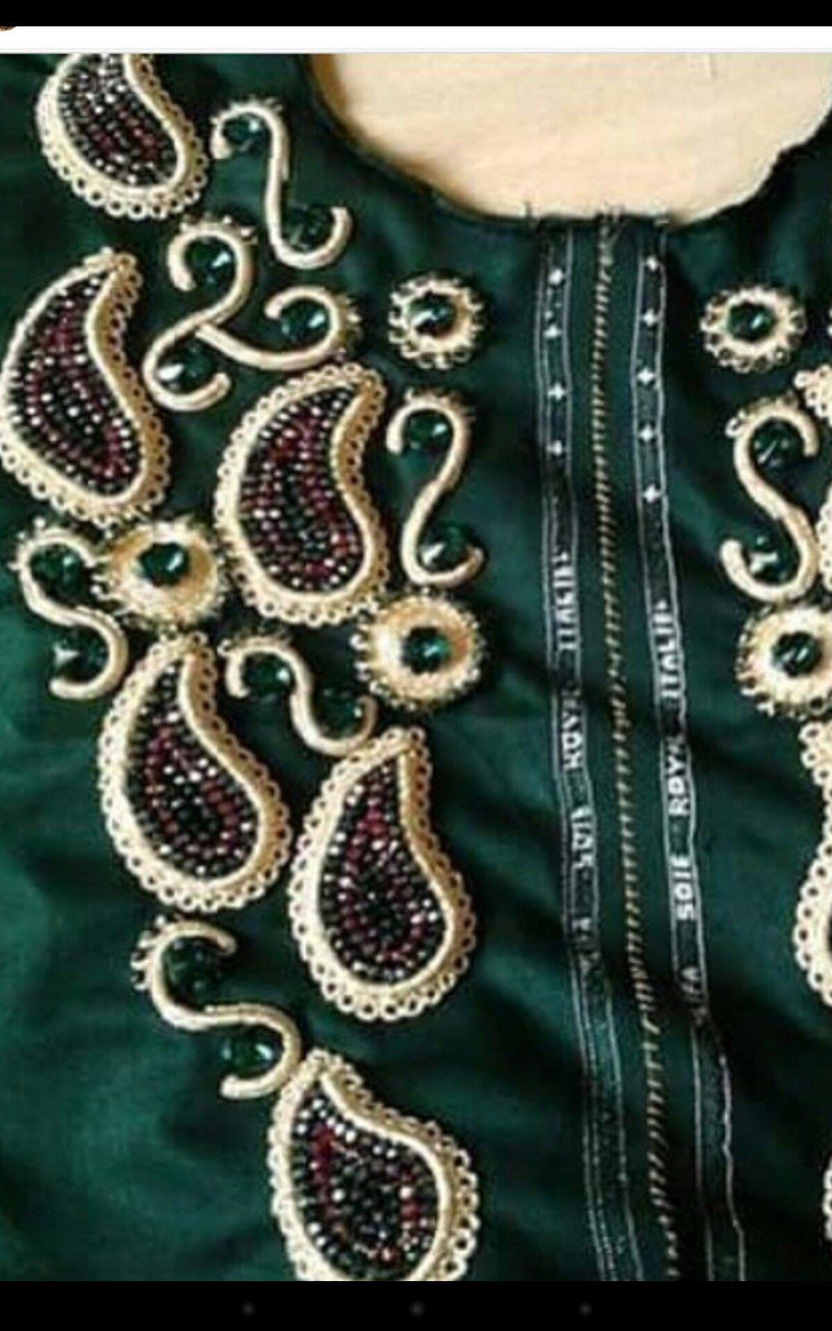 Perlage Henna Patterns Caftan Love Couture