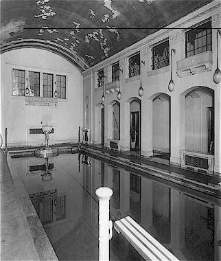 The Room Currently Occupied By The Henry Ford Estate Restaurant Once Housed The Fifty Foot Swimming Pool That Detroit Rock City Vintage Michigan Famous Houses