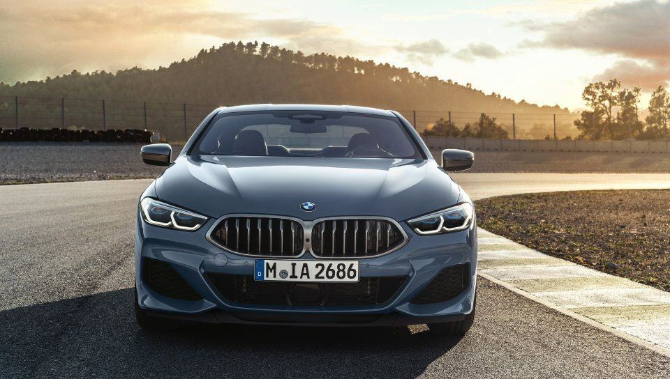 2020, BMW M850i xDrive, front wallpaper