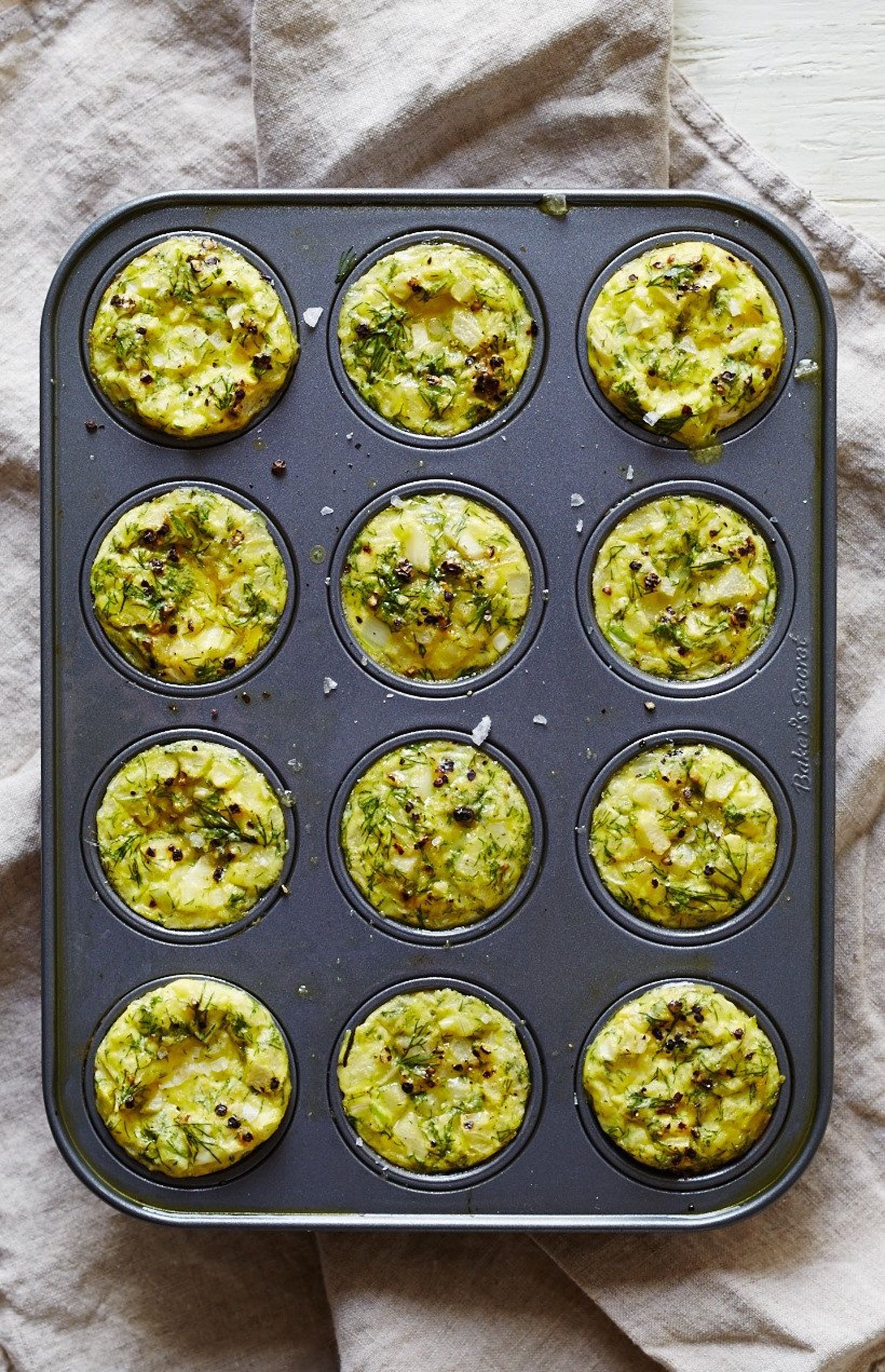 These Mini Dill Frittatas Are a Perfect Bake-and-Take Breakfast — Delicious Links
