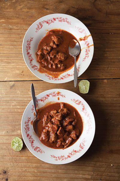 Asado de Bodas (Pork in Red Chile Sauce)  Recipe - Saveur.com