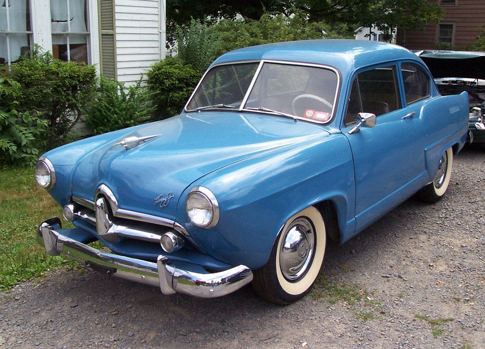 1951 Kaiser Henry J. My grandparents had one of these for years ...