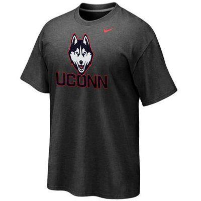 0581c65ba0 Nike UConn Huskies 2013 New Logo T-Shirt - Charcoal