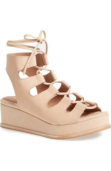 ee946900313a Jeffrey Campbell  Ximeno  Platform Ghillie Sandal (Women) available at   Nordstrom