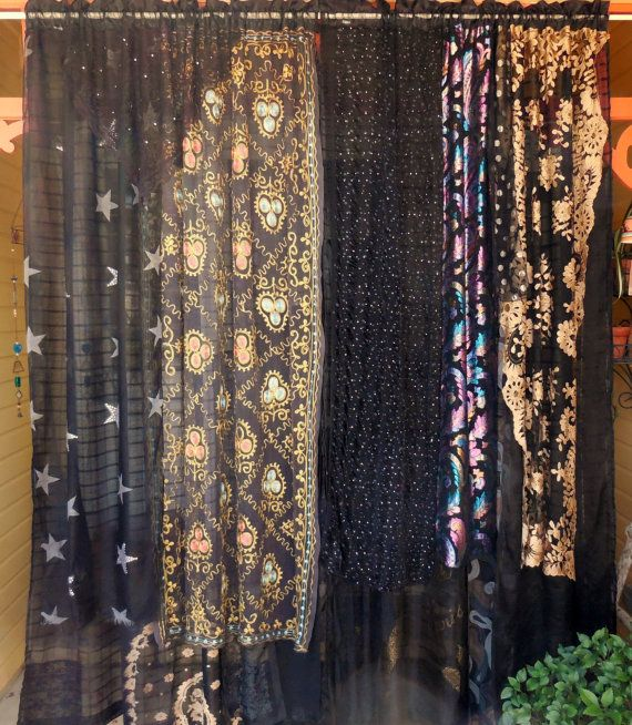 Witchy Woman Bohemian Gypsy Curtains Home And Hearth