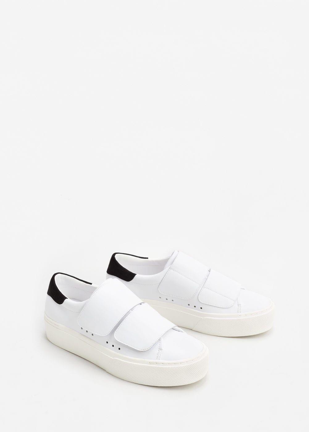 Zapatos blancos Huran para mujer talla 23 U4vTzuvZct