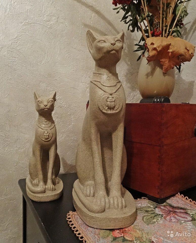 видите картинки статуэток египетских кошек как сделать