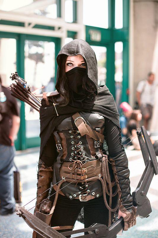 Thief #cosplay by Lyz Brickley #AX2014
