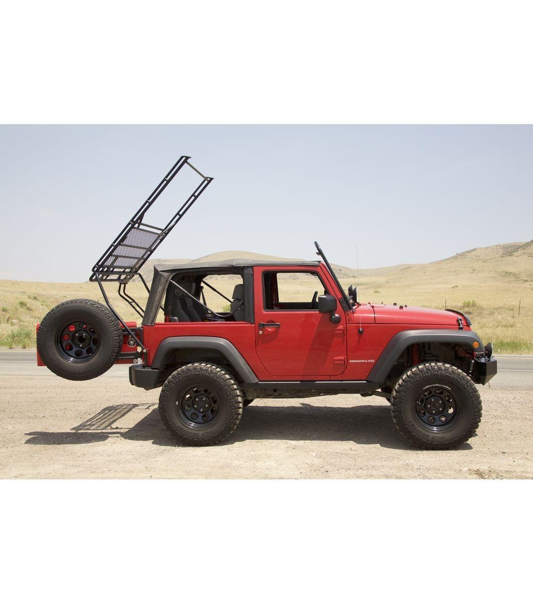 JEEP WRANGLER JK Gobi Racks liftedjeep Jeep wrangler