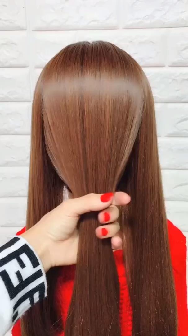 Easy Hairstyles For Long Hair - Hairstyles For Long Hair Videos Easyhair - Beauty Videos