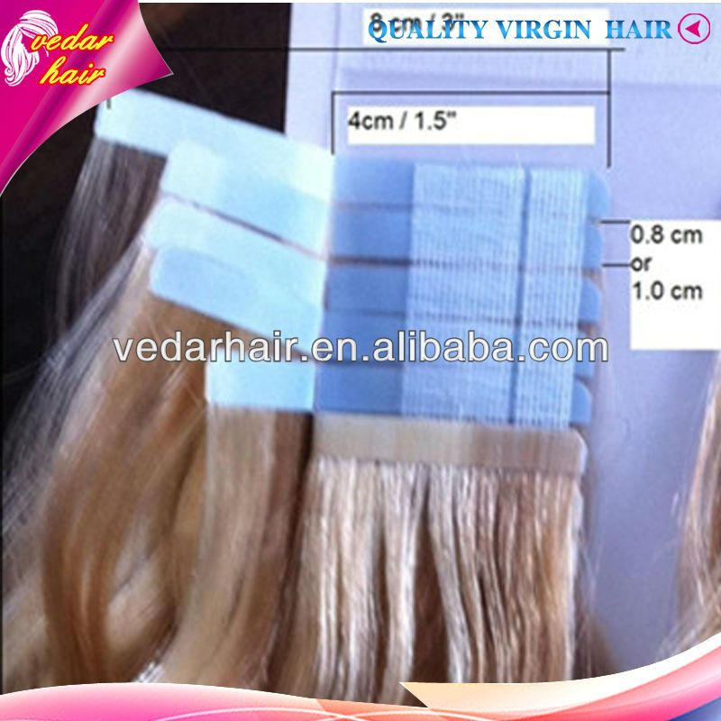 1eap Tape Hair Extensions 2full Cuticle With Hairgrade 5a 3