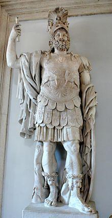 Mars Mythology Roman God Roman Sculpture Statue