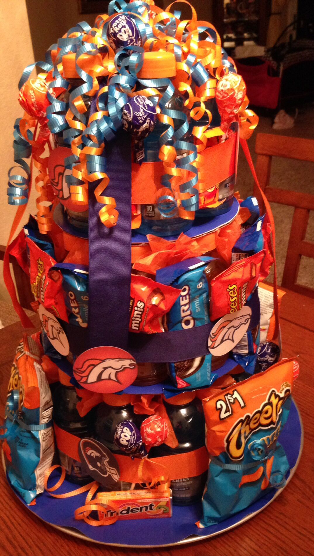 Pin By Kelli Phillips On My Fav Teams Broncos Party Denver Broncos Cake Broncos Gifts
