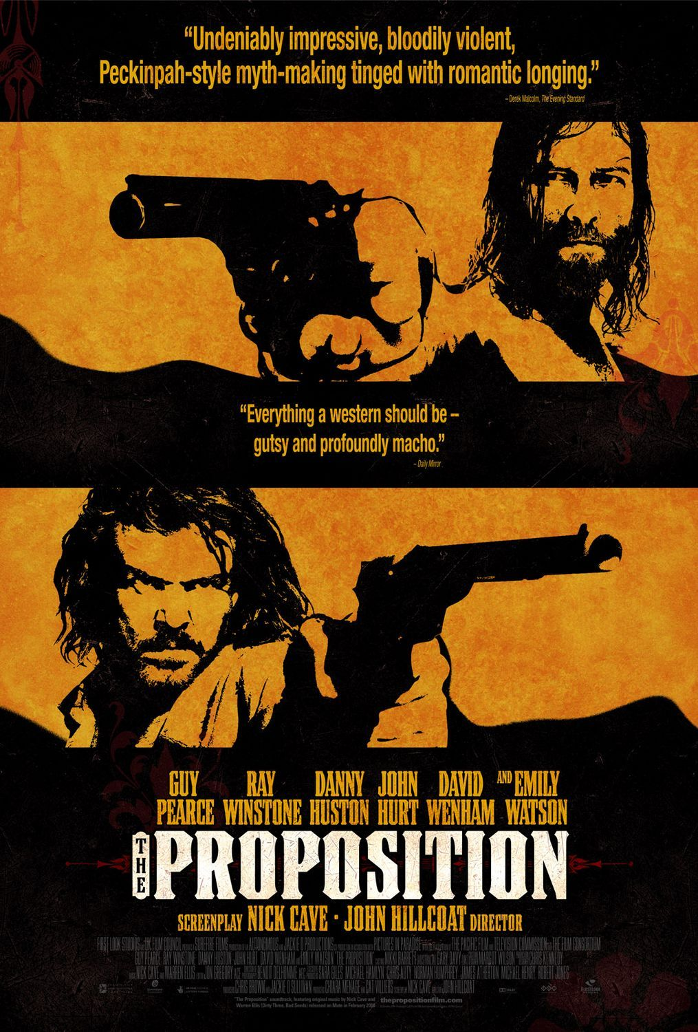 """""""The Proposition"""" > 2005 > Directed by: John Hillcoat > Western / Psychological Western / Outlaw Film"""