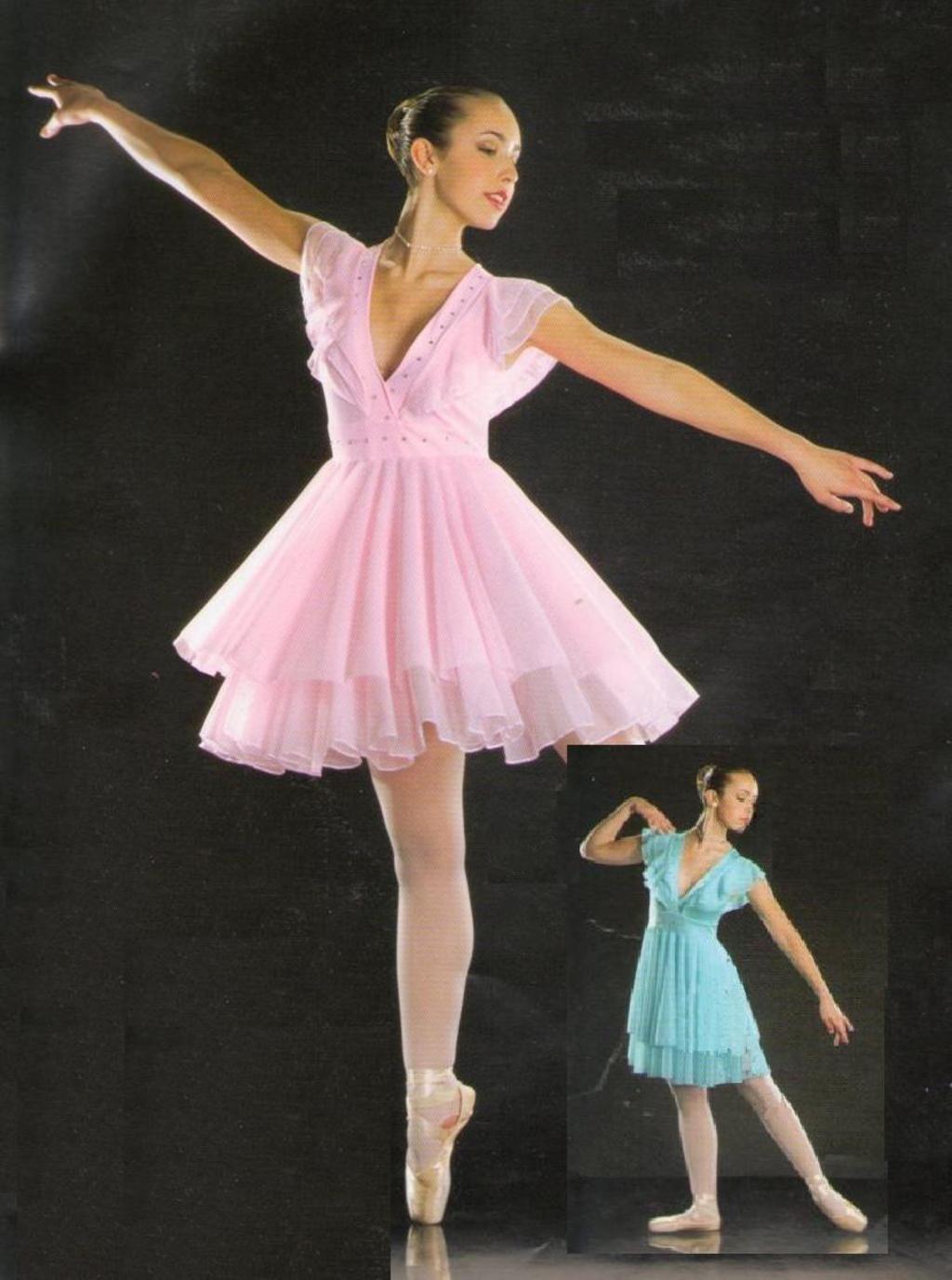 Symphony Lyrical Dress Ballet Ice Skating Pink Dance