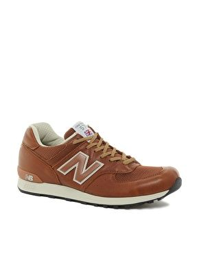 newest e1e14 9f4fb Enlarge New Balance 576 Made In England Leather Sneakers ...