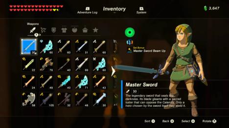 Armor Of The Wild Legend Of Zelda Breath Master Sword Zelda Breath