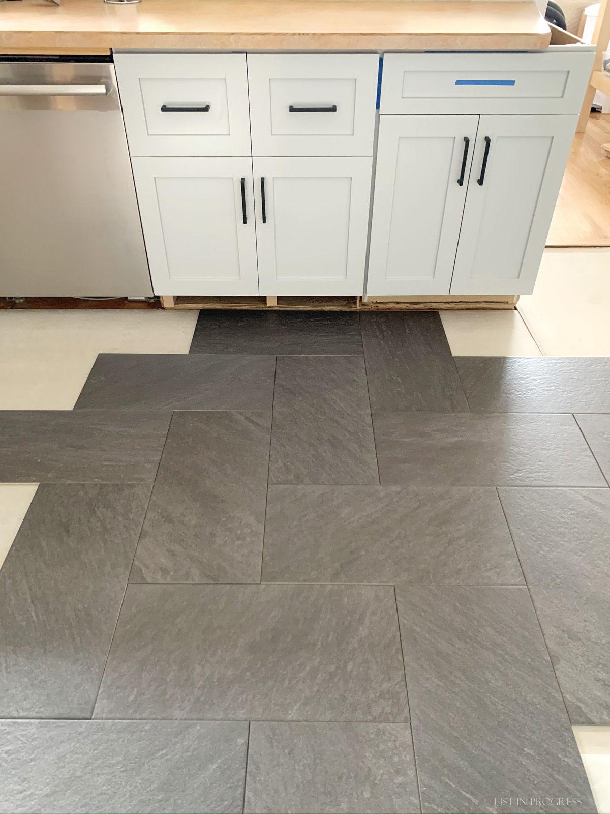 3 Kitchen Floor Tile Layouts Patterned Kitchen Tiles Kitchen Floor Tile Kitchen Floor Tile Patterns