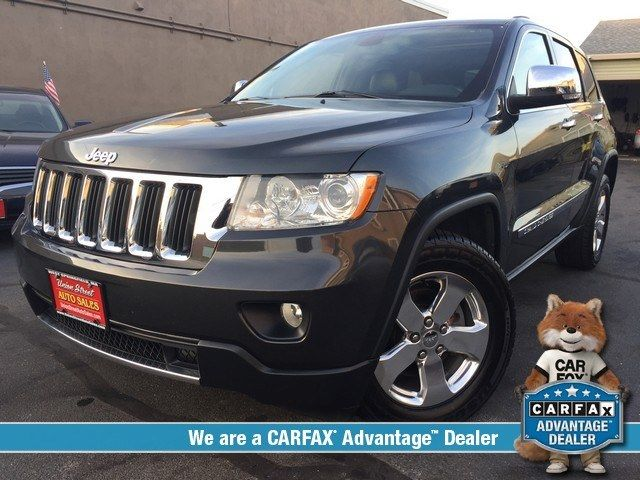 Dark Charcoal Pearl 2011 Jeep Grand Cherokee 4wd 4dr Limited West