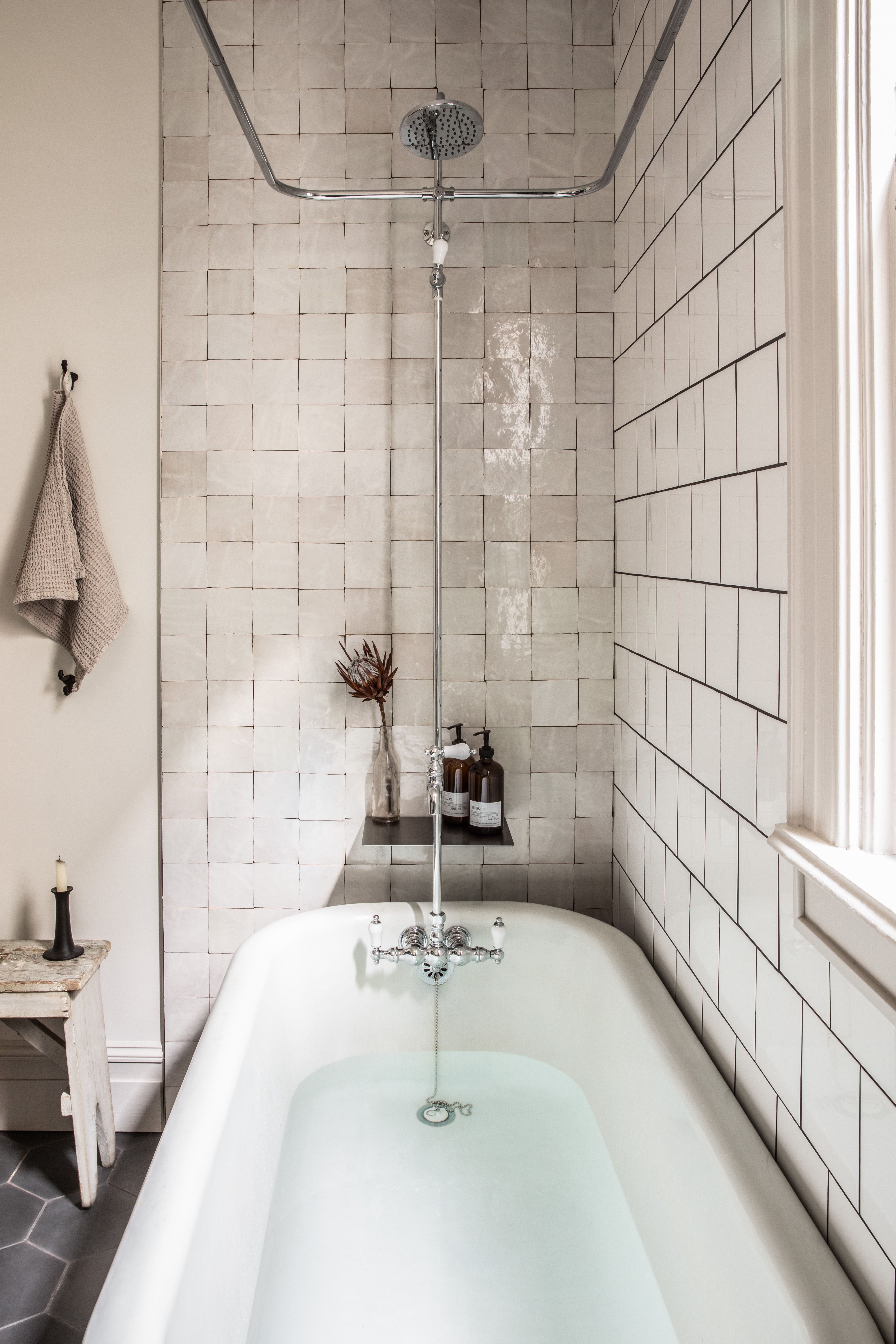 White Subway Tiles Have Been De Rigueur For Tiled Walls Since The Turn Of The Century They C White Bathroom Tiles Bathroom Renovation Bathroom Interior Design