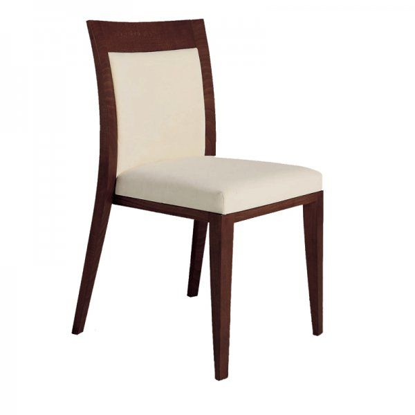 Logica 912 Restaurant Dining Chair Upholstered Wooden Wide