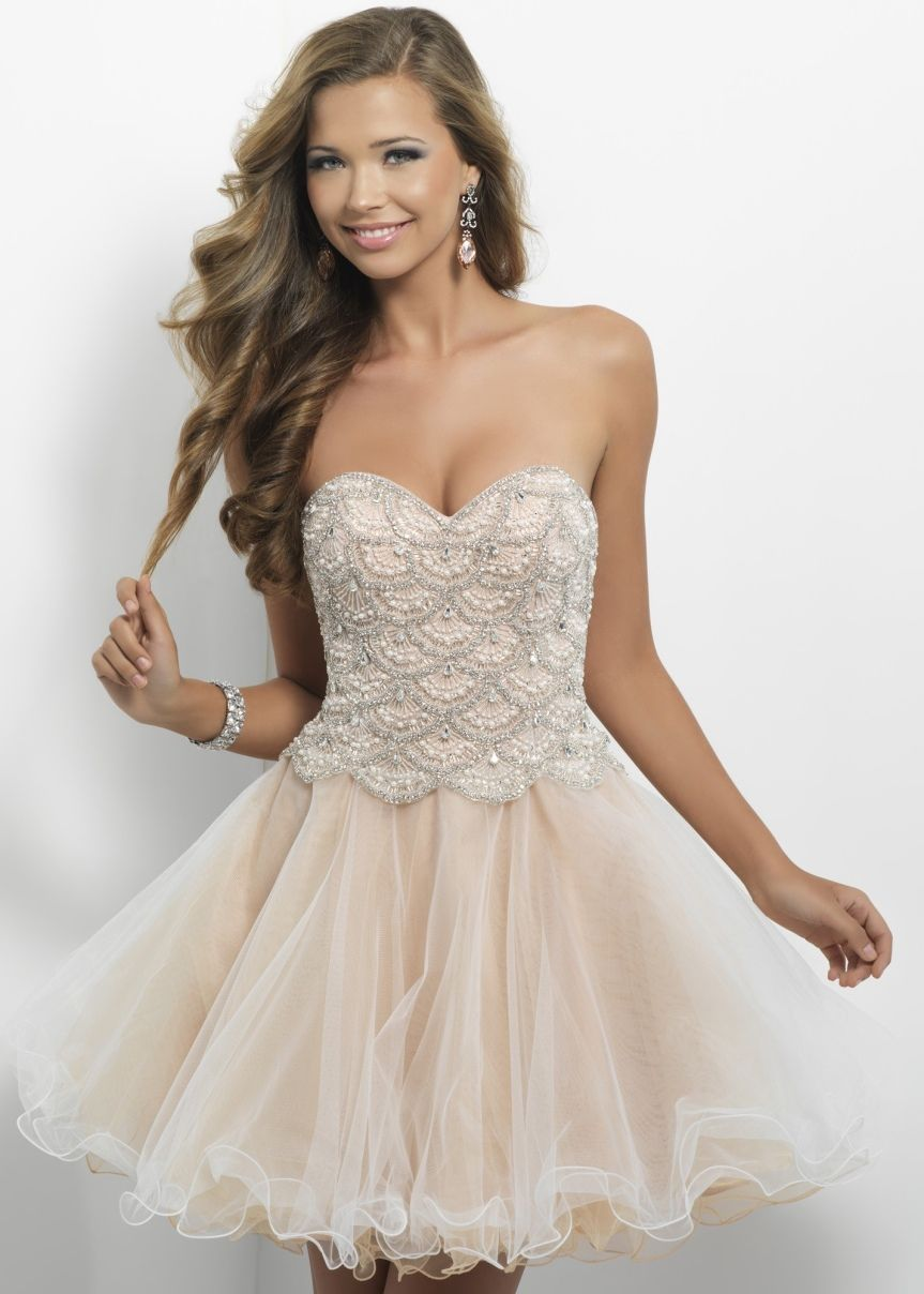 Strapless Beaded Dresses - so pretty | Want...Need...Love ...