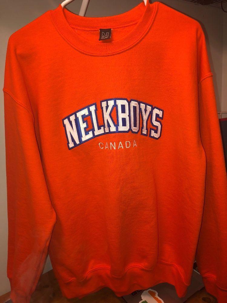 Nelkboys crewneck  Deadstock (1/500) Never Worn  Size Large (can fit