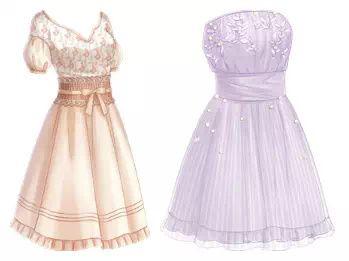 Pin de melody kjorsvik en outfit designs pinterest - Kleider zeichnen ...