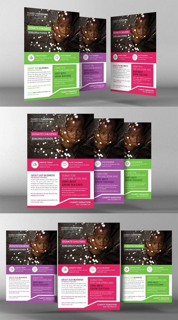 Fantastic Donation Flyer Template Illustration Professional Resume