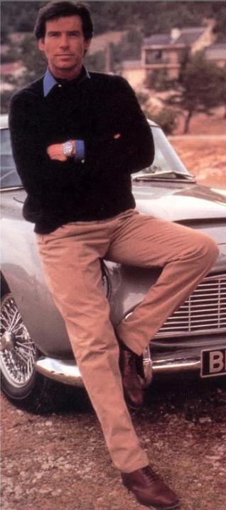 Pierce Brosnan circa young and hot