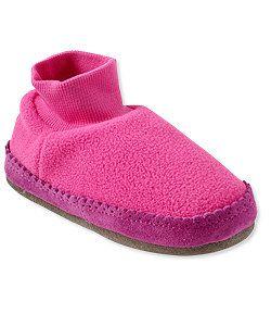 LLBean: Toddlers' Fleece Slippers