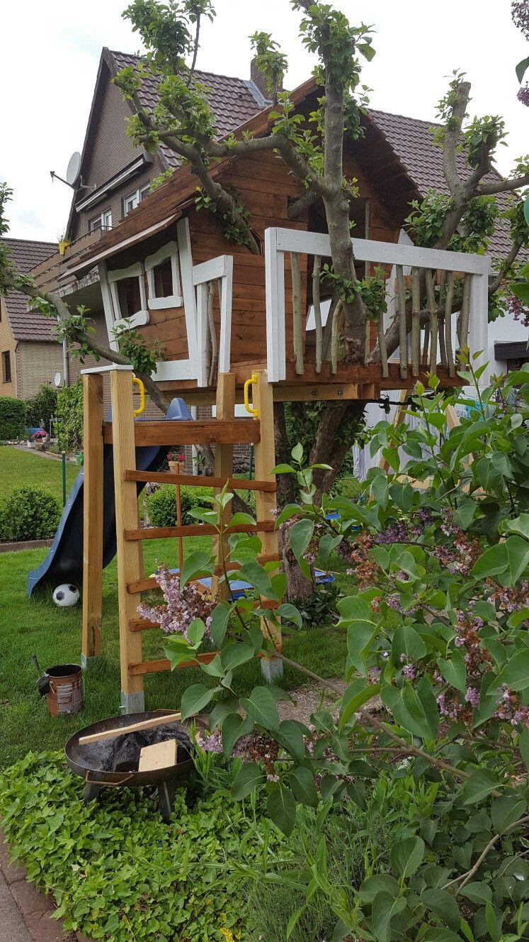 baumhaus diy baumhaus selber bauen spielhaus garten baumhaus. Black Bedroom Furniture Sets. Home Design Ideas