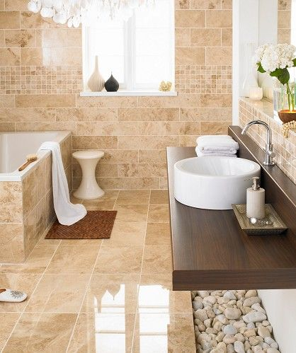 cappuccino marble floor tile bathroom designs pinterest cappuccino marble floor tile marialoaizafo images - Bathroom Tiles Marble