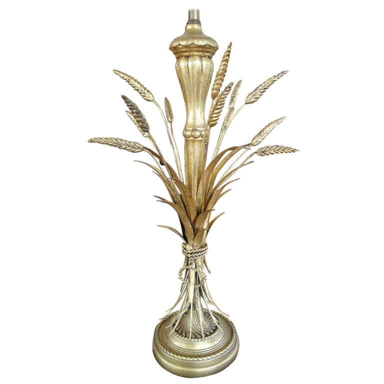 Frederick Cooper Sheaf Of Wheat Table Lamp 1stdibs Com Vintage Table Lamp Table Lamp Modern Table Lamp