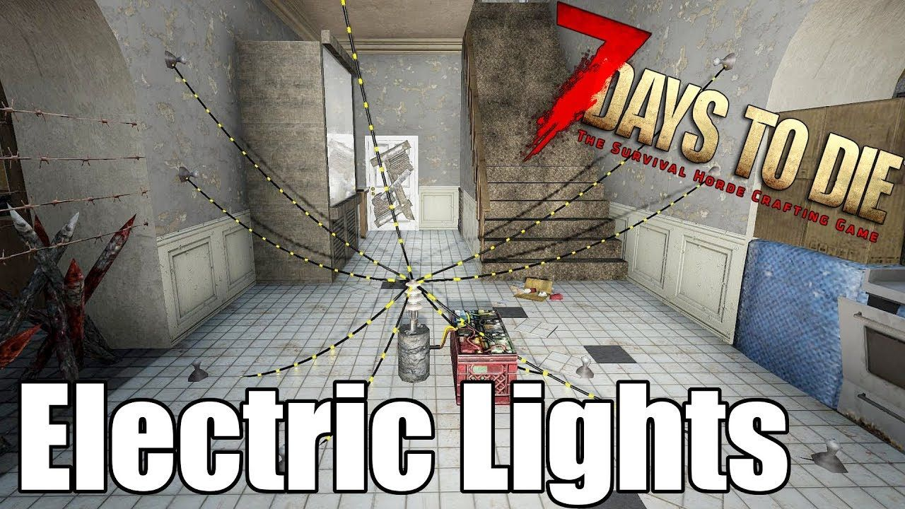 7 Days To Die Electrical Lights Heat Map Do They Raise The