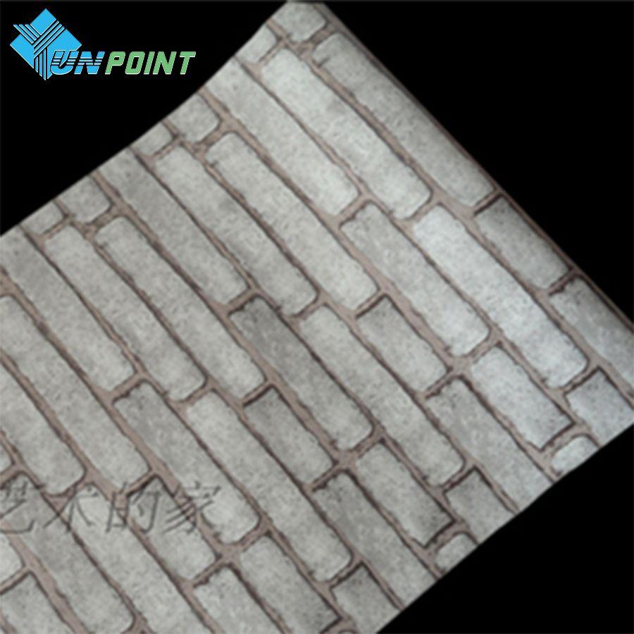 CmXm DIY Home Decor PVC Gray Brick Wall Sticker Vintage Stone - Vinyl wall decals brick