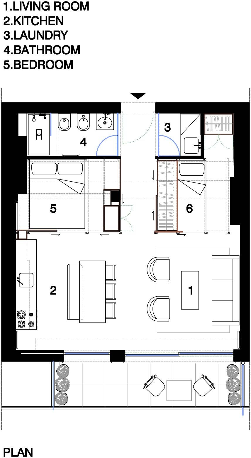 Small Spaces Fun House Busyboo Small Apartment Layout Small Apartment Plans Apartment Layout