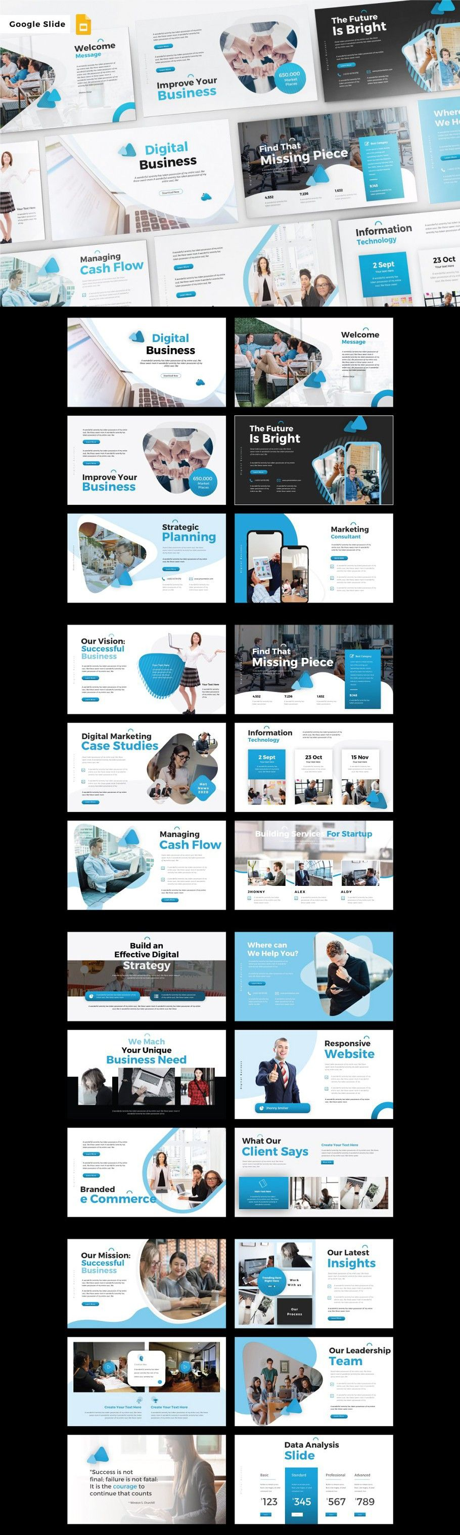 DIGITAL BUSINESSGoogle Slide in 2020 Business