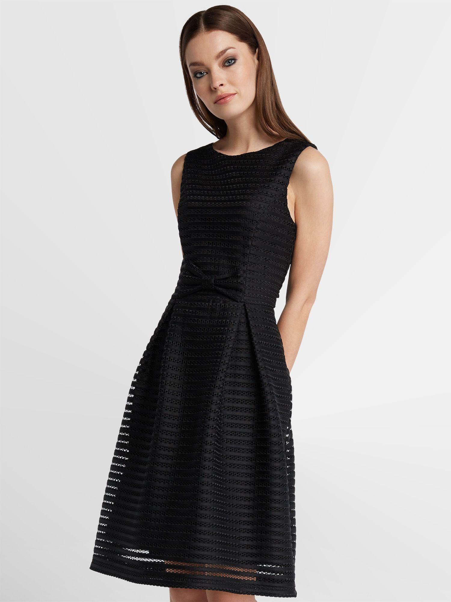 APART Hochzeitskleid Damen, Schwarz, Größe 15  Kurzes