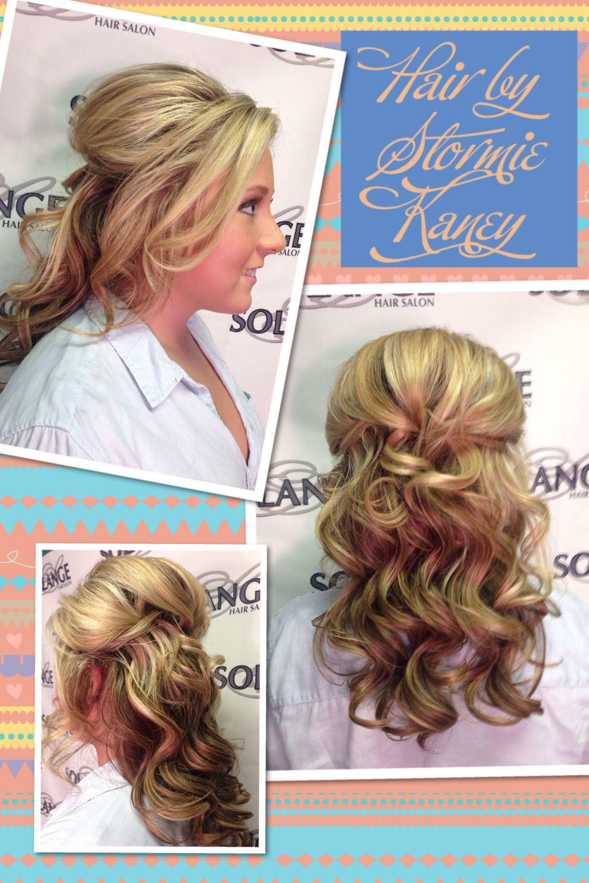 Hair By Stormie Kaney For Solange Salon Fayetteville Ar Prom