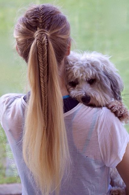pretty and easy long hairstyles for school girls braid