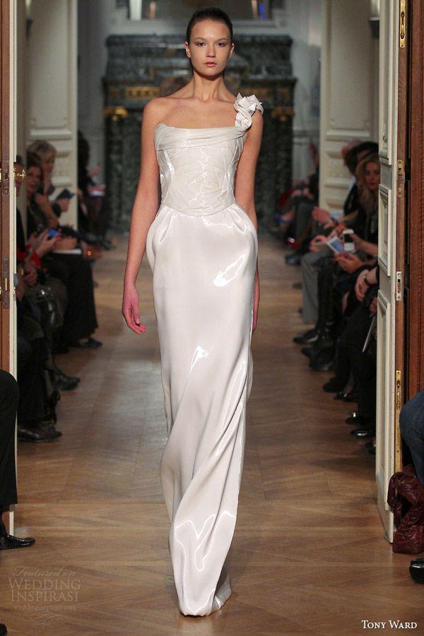 1000  images about White Dress on Pinterest  Oscar de la Renta ...