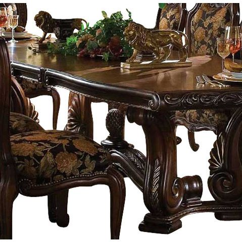 AICO Furniture   AICO Oppulente Dining Table   Oppulente By Michael Amini.  Shown In Sienna